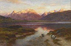 joseph farquharson | Joseph Farquharson - The Rosy Flush of Dawn
