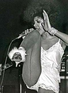 Betty Davis performing. Photo: Ho / SF
