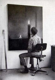 """""""Gray is the color... the most important of all... absent of opinion, nothing, neither/nor."""" Gerhard Richter"""