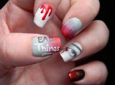 Toxic Vanity: True Blood Nails ( 2 )