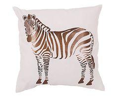 Kissen Zebra, 45 x 45 cm