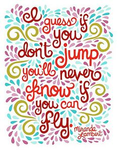 Miranda Lambert Quote Illustration.