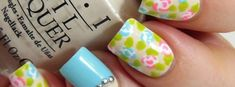 Welcome the spring with colorful and beautiful nail art designs What better way to spend your time that painting your nails. The beauty of ...