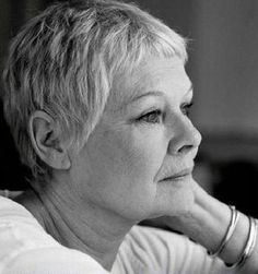 Judi Dench...I most definitely admire you!!!!