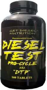 Get Diesel Diesel Test Pro-Cycle - A natural pro-hormonal formulation that boost testosterone production and increase sex drive!