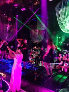 On stage at Cavalli Club, Dubai