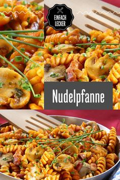 pasta dish- Nudelpfanne The classic among the stir-fried dishes. Casserole Dishes, Casserole Recipes, Pasta Recipes, Dinner Recipes, Cooking Dishes, Beef Dishes, Pasta Dishes, Vegetable Dishes, Vegetable Recipes