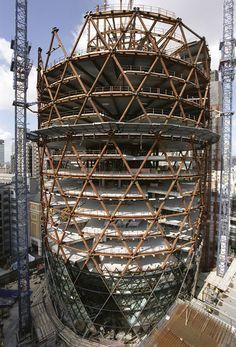 30 St Mary Axe Construction                                                                                                                                                                                 Más
