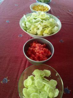 letni obiad - wrapsy