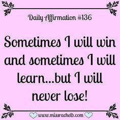 ...I never lose, never.                                                                                                                                                                                 More