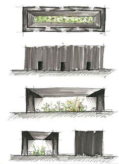 Peter Zumthor - Serpentine Pavillon, London