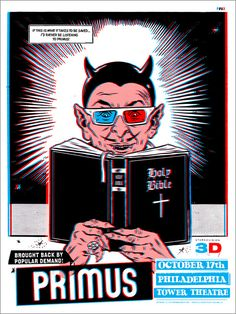 Primus Poster Series - Philadelphia, PA by Morning Breath