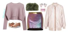 """""""Psychedelic"""" by hjcaldwell on Polyvore featuring Elie Saab, Mason by Michelle Mason, Chicnova Fashion, Acne Studios, Ted Baker, Christian Dior and Fiebiger"""