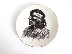 Vintage Perillo Plate, Vague Shadows Collector's Plate, Apache, Indian Nations Series, Native American Collectible by FoxLaneVintage on Etsy Apache Indian, Eclectic Decor, Shadows, Native American, Decor Ideas, Plates, Unique Jewelry, Etsy, Vintage