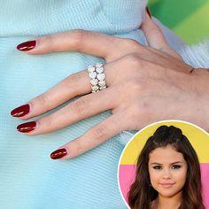 Selena Gomez #beauty #nails