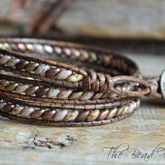 Bracelet Knots, Beaded Wrap Bracelets, Silver Bracelets, Bracelet Making, Beaded Jewelry, Leather Bracelets, Diy Jewelry, Knotted Bracelet, Jewelry Making