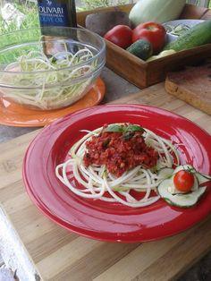 raw vegan pasta