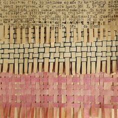 """bicocacolors. Repinned by Elizabeth VanBuskirk, teacher and author of """"Beyond the Stones of Machu Picchu: Folk Tales and Stories of Inca Life"""" on """"Art and Weaving Teaching Ideas."""""""
