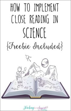 Using a close reading strategy in science is a perfect way for students to comprehend difficult science text and deepen their understanding. This post breaks down how to use close reading with any science text and has a FREE science passage with close rea Science Lessons, Teaching Science, Science Education, Science Activities, Science Ideas, Teaching Ideas, Physical Science, Science Labs, Earth Science