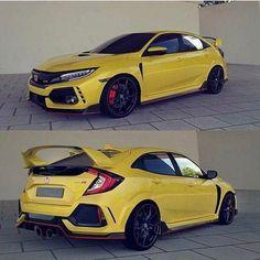 My Dream car Honda Civic(Dehraj Ali Murad Honda Civic Hatchback, Honda Civic Type R, Honda Civic Coupe, Cool Sports Cars, Sport Cars, Nice Cars, Soichiro Honda, Honda Cars, Japan Cars