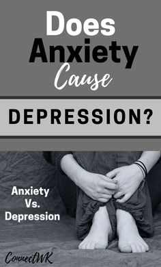 Are you suffering from anxiety, and now you're concerned that it will develop into depression? In this week's article I talk about how depression can develop from anxiety, how to prevent it, and the difference between the two. Anxiety Causes, Anxiety Help, Anxiety Relief, Natural Remedies For Anxiety, Natural Cough Remedies, Herbal Remedies, Mental Health Nursing, Mental Health Treatment, Home Remedy For Cough