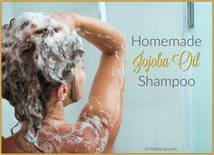 Homemade Shampoo with Jojoba Oil