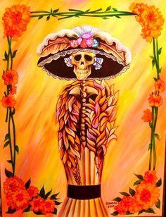 1000 images about artist diego rivera on pinterest for Dia de los muertos mural