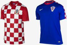 Uniforme Croacia Copa do Mundo 2014