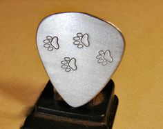 Custom Wood Guitar Pick Handmade Exotic and by NuevoWoodcrafts