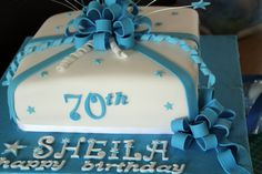 70th Birthday Cake Ideas For Mom