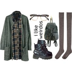 Untitled #33 by twisted-candy on Polyvore featuring Julie Fagerholt Heartmade, Hansel from Basel and grunge