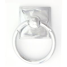 Knobs4Less.com Offers: Alno ALN-53508 ring pull Polished Chrome Alno Creations Cabinet Hardware - Eclectic Collection