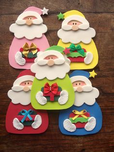 1 million+ Stunning Free Images to Use Anywhere Christmas Card Crafts, Felt Christmas Ornaments, Noel Christmas, Christmas Activities, Holiday Crafts, Christmas Decorations, Kids Crafts, Crafts For Seniors, Hobbies And Crafts