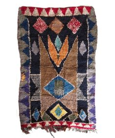 Vintage Boucherouite Rug Madesign 2015 Collection