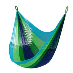 Bring casual relaxation to the backyard with the incredible comfort of the Key West Hanging Chair. With a loose-knit, breezy weave that's perfect for summer days, this hanging chair stretches to six fe...  Find the Key West Hanging Chair, as seen in the Bohemian Sanctuary Collection at http://dotandbo.com/collections/bohemian-sanctuary?utm_source=pinterest&utm_medium=organic&db_sku=110613