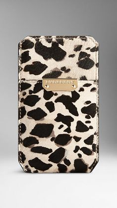 Burberry Animal Print iPhone 5/5s Case