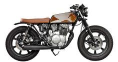 ϟ Hell Kustom ϟ: Yamaha XS400 1979 By Ventus Garage