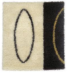 """The Orbits"" design: Nina Nisonen Rya Rug, Marimekko, Love People, Textile Art, Weaving, Contemporary, Rugs, Linens, Scandinavian"