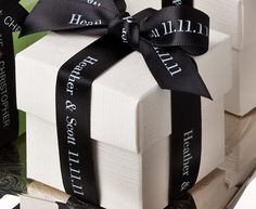 Personalized 5/8 Textured Ribbon