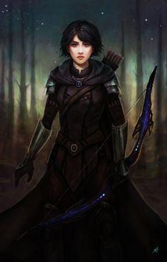 "pathfinderpantheon: "" http://aerenwyn.deviantart.com/art/Commission-Seika-485810389 """