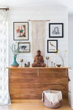 A Suburban Home Gets A Contemporary-Bohemian Makeover