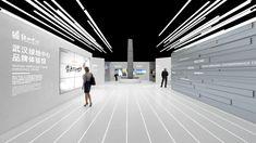 Greenland showroom on Behance Museum Exhibition Design, Exhibition Display, Exhibition Space, Design Museum, Corporate Interior Design, Showroom Interior Design, Modern Interior Design, Plywood Furniture, Design Furniture