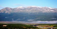Panorámica de Leadville, a más de 3.100m de altitud en Colorado y a la sombra de catorce picos de más de cuatromil metros en plenas Montañas Rocosas.
