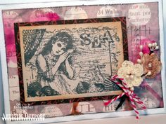Stamps - Artistic Outpost Sound of the Sea, Ephemera Backgrounds