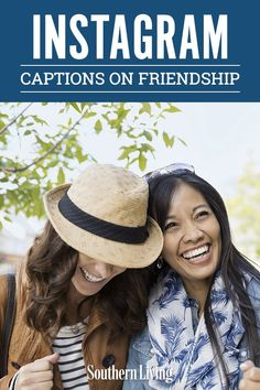 Instead of defaulting to a caption with a few of your most-used emojis, we found some best friend captions for Instagram for you. If you can't find the words for a caption for pictures with your friends, you've come to the right place.  #instagramcaptions #forfriends #cute #bestfriends #southernliving Caption For Friends, Friends Are Like, True Friends, Best Friends, Best Friend Captions, Instagram Captions For Friends, Friendship Captions, Friend Friendship, Southern Sayings