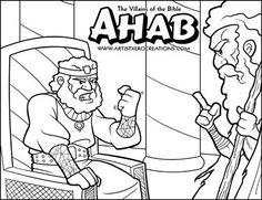 The Villains Of Bible Ahab