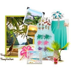 """Tropical Temptation"" by sawilson98 on Polyvore"