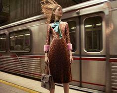 Tessa Charlotte Bruinsma, Tobias Lundh, Sven De Vries & Lia Pavlova for Gucci AW 2015-2016 Ads Campaign