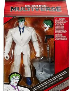 8 DC Multiverse Action Figures Joker Dark Knight Returns Earth 23 Superman