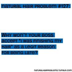 Natural Hair Problems